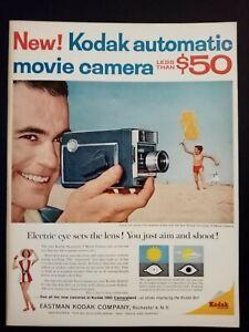 Pubblicita-originale-Kodak-1961-rifilatura-da-rivista-in-passepartout