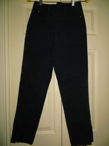 womans skinny jeans CHEMIN DE FER black Vintage 1… - image 1