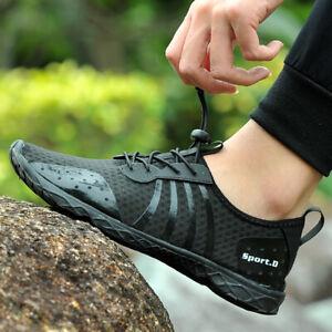 Zapatos-Para-Hombre-Agua-Descalzo-Playa-AQUA-Calcetines-de-secado-rapido-para-deportes-al-aire-libre
