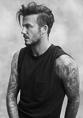 A1 - A5 SIZES AVAILABLE DAVID BECKHAM GLOSSY WALL ART POSTER PRINT