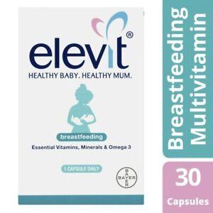 Elevit Breastfeeding Capsules 30 each