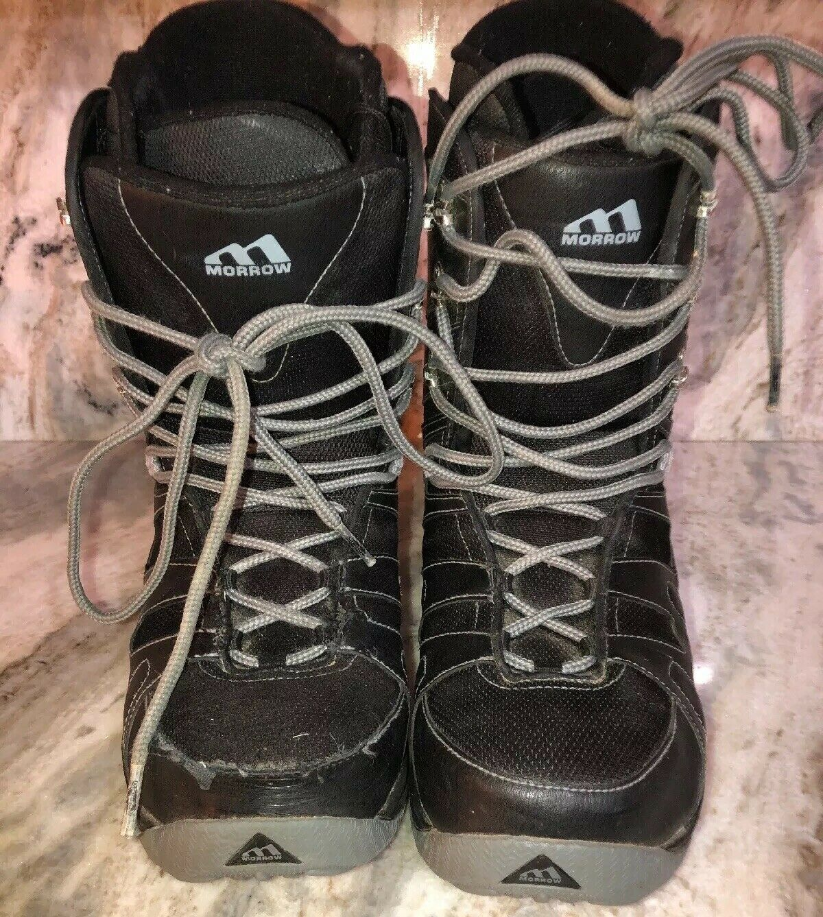 MORROW RAIL SNOWBOARDING Boots Mens Size  US 10 Eur 43.5-RARE VINTAGE-SHIP N 24HR  first-class quality