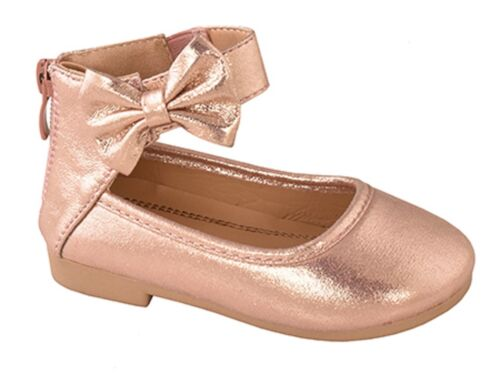 New toddler basic round toe  ballet flats slip on shoes   Size 3 to 9   3 colors