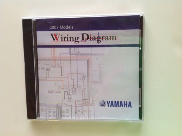 Yamaha 2007 Models Wiring Diagram On Cd