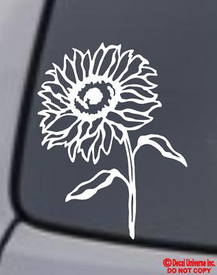 HUMMINGBIRD Vinyl Decal Sticker Car Window Wall Bumper Humming Bird Flower Cute