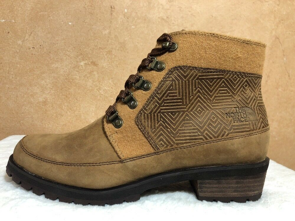 The North MM Face Bridgeton Lace MM North Donna's Brown Winter Boot Waterproof Size 9 18c74f