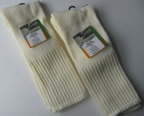 ladies/' cream or off white boot socks new with tags 2 pairs