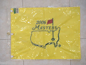 12b6b68ded5 2006 MASTERS GOLF PIN FLAG AUGUSTA NATIONAL PHIL MICKELSON PGA NEW ...