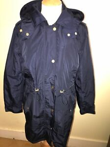 amp;p Sz 12 Style New Parka Raina Coat Freeukp Coastline Rrp£128 Joules Waterproof w0PqOpqx