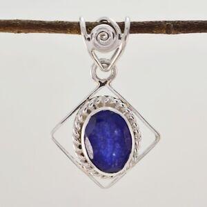 Fair-indischen-Saphir-925-Sterling-Silber-blau-Anhaenger-Grosshandel-de