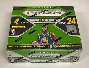 2018-19 Panini Prizm Basketball Retail 24-Pack Box Unopened - Luka Doncic RC YR