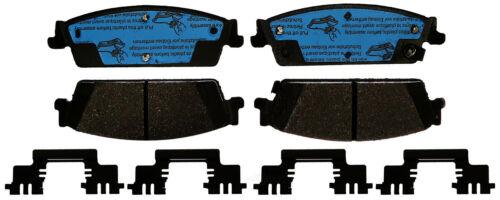 Disc Brake Pad Set-Ceramic Disc Brake Pad Rear ACDelco Pro Brakes 17D1194CHF1
