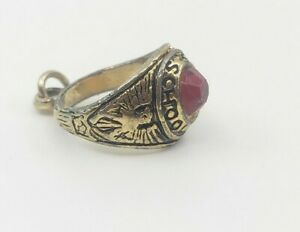 Vintage-High-School-Ring-Pendant-for-Necklace