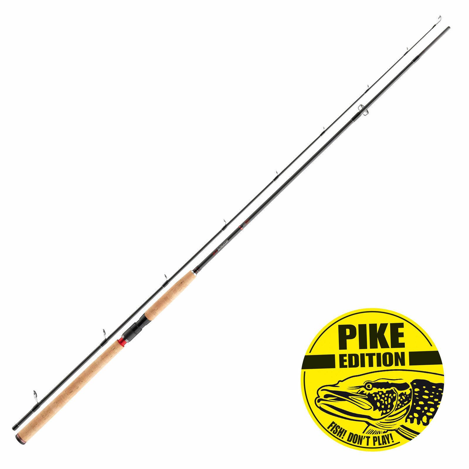 Jackson caña de pesCoche Cocherete fijo steckrute-hechtrute longitud 2,40m WG 40-80g