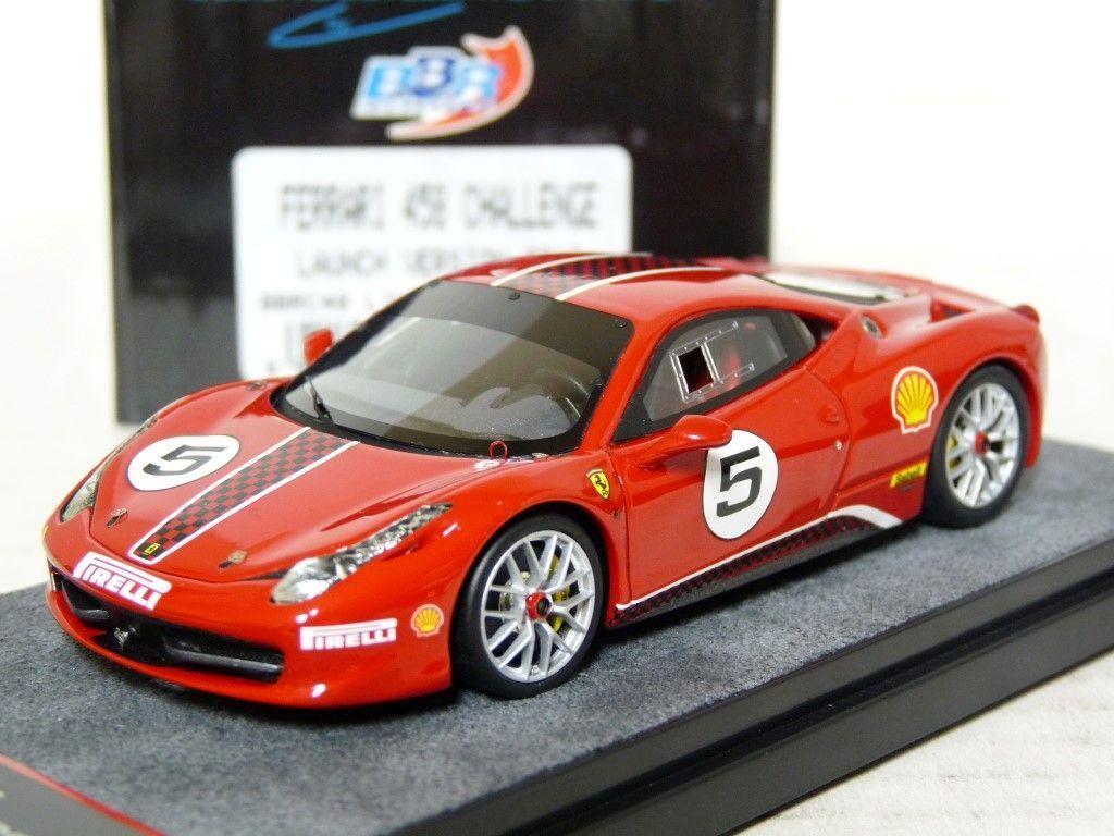 BBR BBRC48 1 43 2010 Ferrari 458 Challenge Handmade Resin Model Car