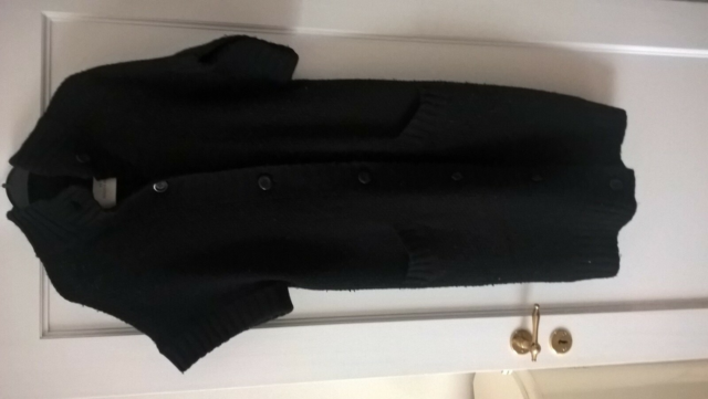 Cardigan, By Malene  Birger, str. 42, Sort,…