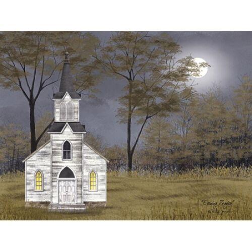 Plaque By Billy Jacobs BJ1122 Evening Prayer Art Print Framed