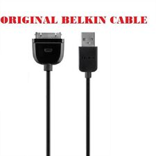 Belkin USB Data Sync Charger Cable For iPhone 4S 4 3/3GS iPad 1 2 3 Gen 1m Blk