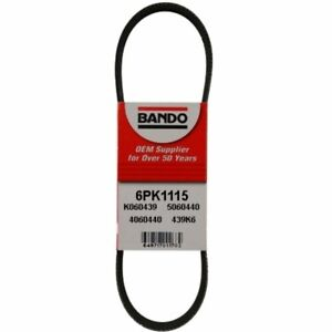 METRIC STANDARD 6PK1115 Replacement Belt