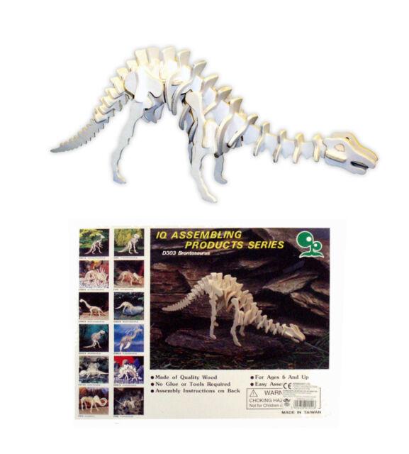 Wooden Dinosaur Skeleton Assembly Kit (One Of 12 Assorted Designs)