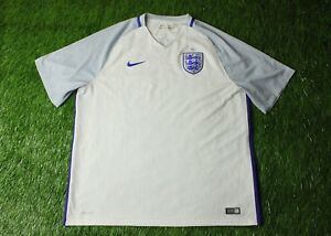 398ef09c7 Image is loading ENGLAND-NATIONAL-TEAM-2016-2017-FOOTBALL-SOCCER-SHIRT-
