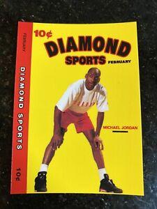 MICHAEL-JORDAN-1990-91-Diamond-Sports-Promo-Card-Bulls-HOF-NMMT-NBA-Basketball
