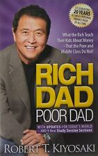 Robert T. Kiyosaki Rich Dad Poor Dad: Kids, Parents, Teach, Money, Finance Book