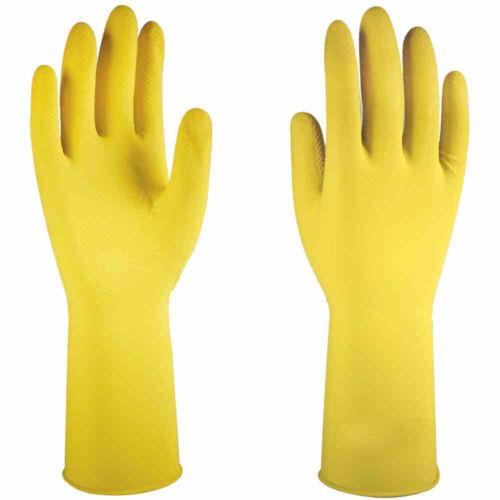amarillo Cantante 111-01 prima HH-guante talla s látex 1 pares