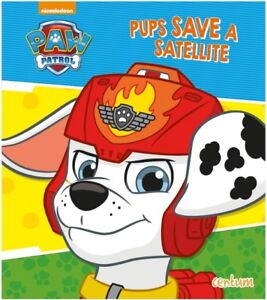 Pups Save Christmas Book.Details About Paw Patrol Pups Save A Satellite Story Book Children S Reading Christmas Gift