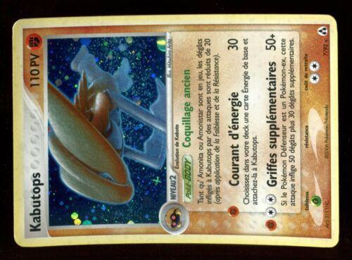 POKEMON EX CREA LEGENDES HOLO N°  7//92 KABUTOPS 110 PV