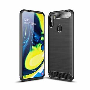 Samsung-Galaxy-A11-Custodia-Cover-per-Cellulare-Protettiva-Bumper-Grigio