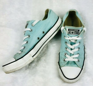 Details about Converse Womens Shoes Chuck Taylor All Star Mint Green Sneakers Sz: 8