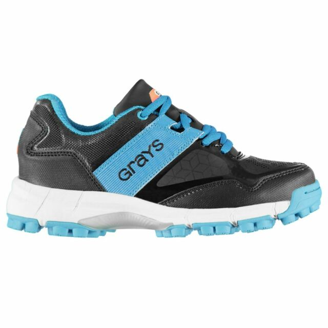Clearance Grays International Flash Astro Hockey Shoes Grey Aqua 11½ JUNIOR 30