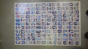 Details About 1990 Topps Uncut Sheet Baseball Cards 40 Years Of Baseball