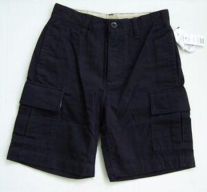 42349b77b NEW  976962 Gap Kids Uniform Boys True Navy Cargo Shorts  6 Husky ...