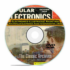 Electronics Illustrated Popular Electronics 378 Old Time Radio Magazines DVD E55