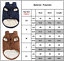 thumbnail 5 - Winter-Pet-Dog-Warm-With-Buttons-Coat-Puppy-Fleece-Lined-Padded-Vest-Jacket
