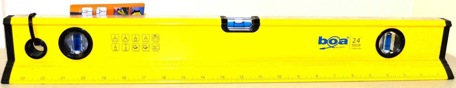 "Boa Tri Spirit Level 600mm//24/"" TL60"