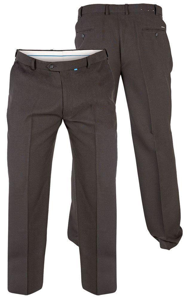 BIG Dimensione Da Uomo Bi Elasticizzato Cinque Cinque Cinque Tasche Pantaloni Nero Jean Taglia Girovita 42-60 S R L 91ffc0