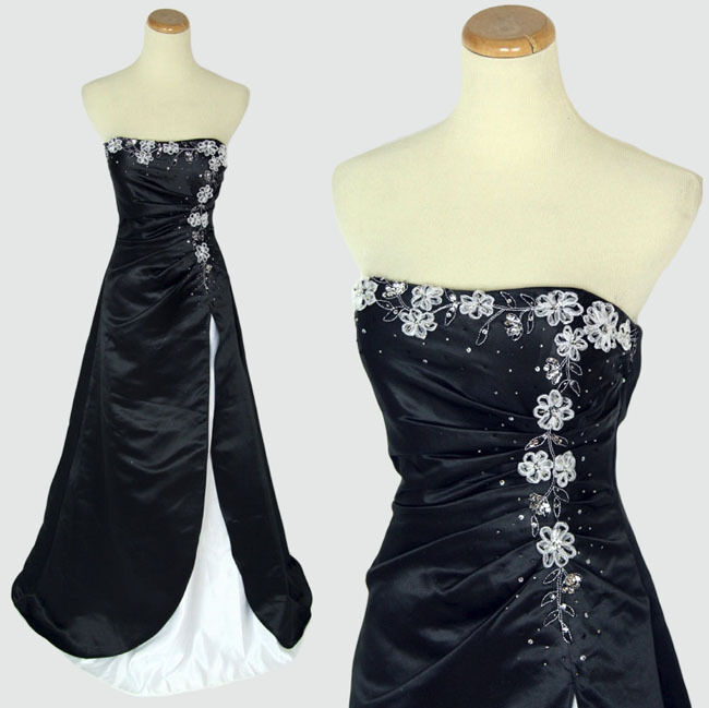 Jump Apparel  Strapless Prom Formal Cruise Dress Größe 3 Long NWT Evening