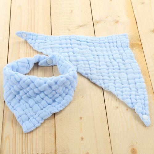 Kinder Babynahrung Baumwolle Handtuch Latz Junge Mädchen Bandana Speichel