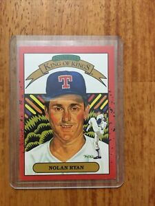 1990 Donruss Nolan Ryan Texas Rangers #665 Baseball Card