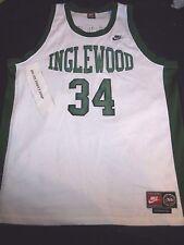 Paul Pierce 34 1996 Inglewood High School Nike TAG Basketball Jersey XXL Celtics