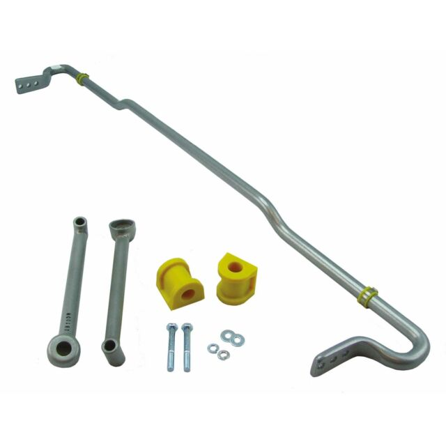 Whiteline Non-Adjustable Rear Anti-Roll Bar 24mm ARB Focus Mk2 Mk3 Mazda3