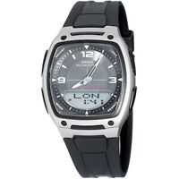 Casio AW81-1A1 Mens NEW Digital Analog 30 PAGE Data Bank Watch 10 YEAR BATTERY
