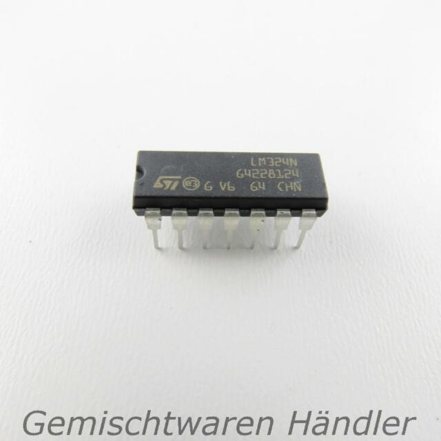 LM324N Amplifier Operational DIP14 Batch of 2 and 5