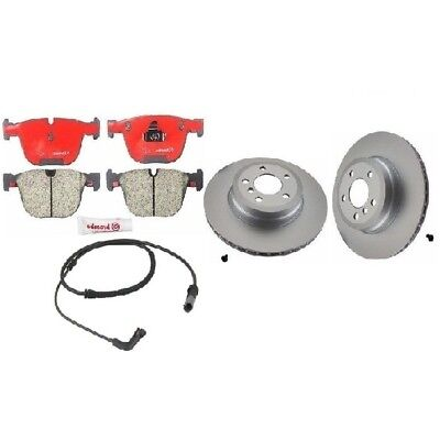 For BMW E70 X5 X6 Complete Front Brake Pads KIT with Sensor Brembo Ceramic