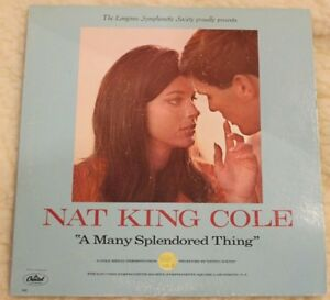 Nat King Cole A many splendored Thing auf Vinyl - Erlangen, Deutschland - Nat King Cole A many splendored Thing auf Vinyl - Erlangen, Deutschland