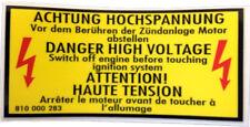 CORRADO Sticker, Engine Bay Warning, Mk1 Golf/Scirocco 100x45mm - 810010283