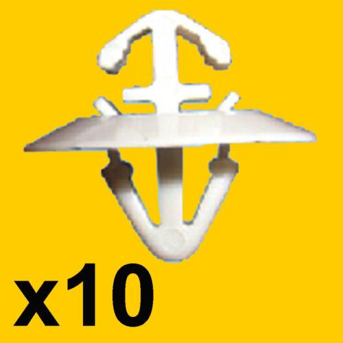 10 Modanatura Sportello Clip Renault Master Kangoo Iveco Daily